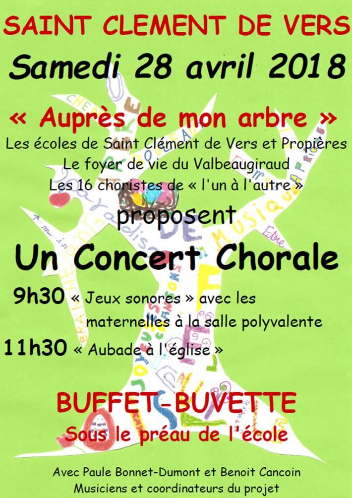 Chorale St Clément 28-04-18